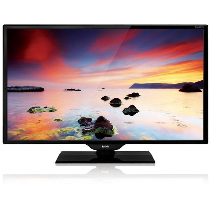 "Телевизор LED 19"" BBK 19LEM-1010/T2C черный - фото 1"