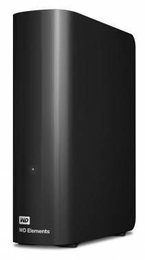 Внешний жесткий диск 3Tb WD Elements Desktop WDBWLG0030HBK-EESN черный USB 3.0