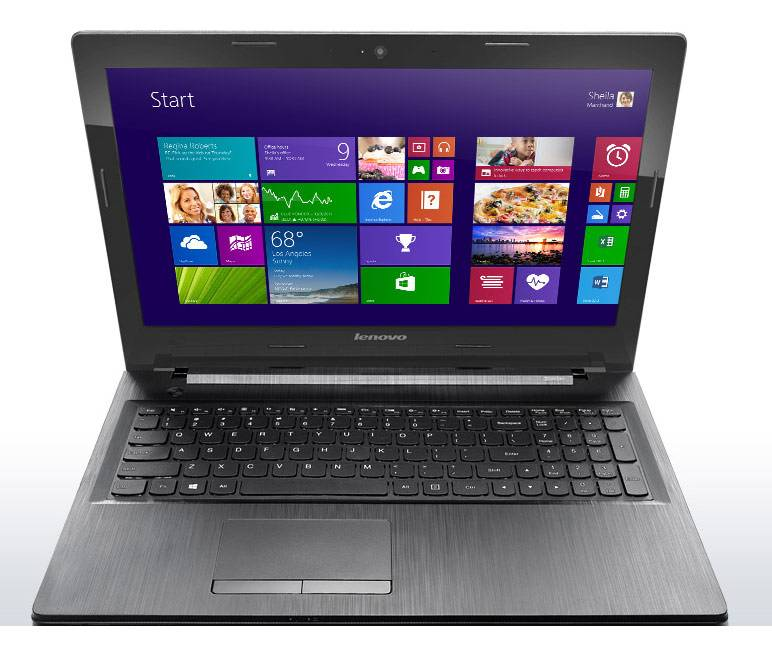 "Ноутбук Lenovo IdeaPad G5080  15.6"" 1366x768 Intel Core i5 5200U 2.2ГГц 6144МБ DDR3L 1000Гб DVD-RW AMD Radeon R5 M230 2048МБ Windows 8.1 64-bit Single Language BT - фото 2"