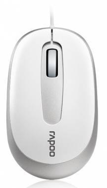 Мышь Rapoo N3200 белый / серебристый