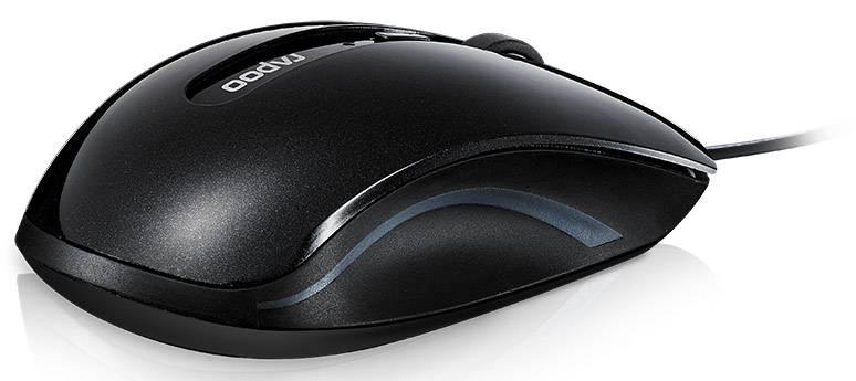 Мышь Rapoo N3600 черный - фото 4