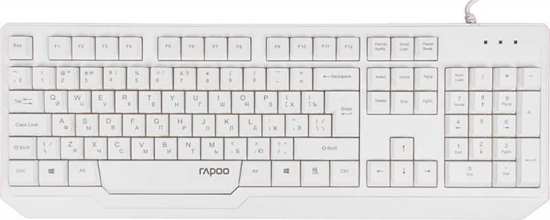 Клавиатура Rapoo N2210 белый - фото 1