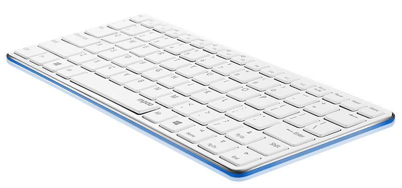 Клавиатура Rapoo E6350 синий - фото 1
