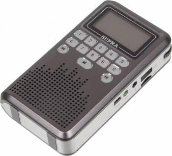 Радиоприемник Supra PAS-3907 серый