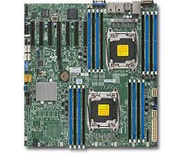Серверная материнская плата Soc-2011 SuperMicro MBD-X10DRH-I-O eATX Ret