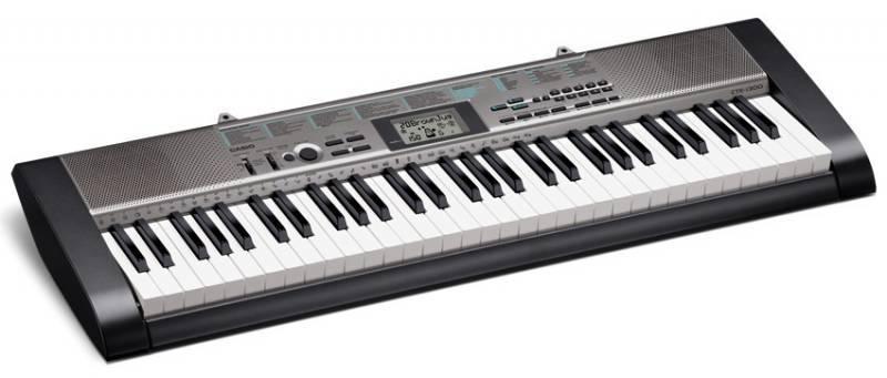 Синтезатор Casio CTK-1300 черный - фото 2