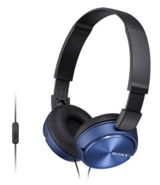 Гарнитура Sony MDR-ZX310AP голубой (MDRZX310APL.CE7)