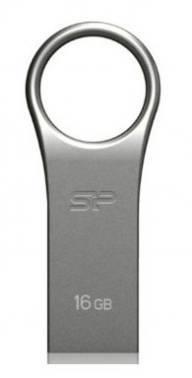 Флеш диск Silicon Power Firma F80 16ГБ USB2.0 серебристый