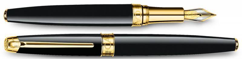 Ручка перьевая Carandache Leman Ebony black lacquered GP (4799.272) - фото 2