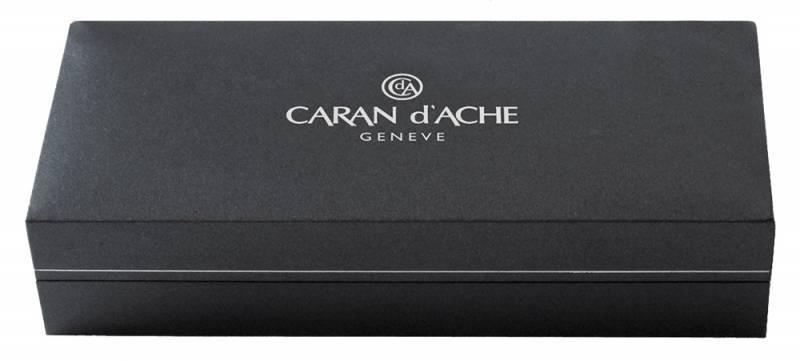 Ручка перьевая Carandache Leman Ebony black lacquered GP (4799.272) - фото 4