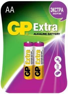 Батарея AA GP Extra Alkaline 15AX LR6 (2шт)