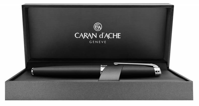 Ручка перьевая Carandache Leman Black lacquered matte SP (4799.486) - фото 3
