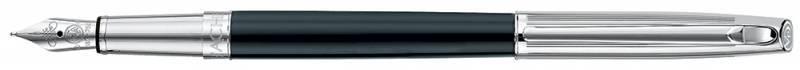 Ручка перьевая Carandache Madison Bicolor Black SP (4690.446) - фото 1