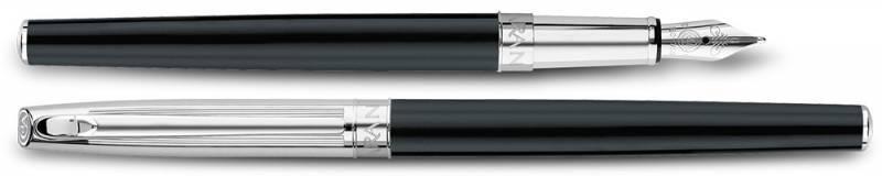 Ручка перьевая Carandache Madison Bicolor Black SP (4690.446) - фото 2