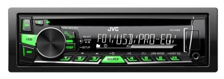 Автомагнитола JVC KD-R469EY - фото 1
