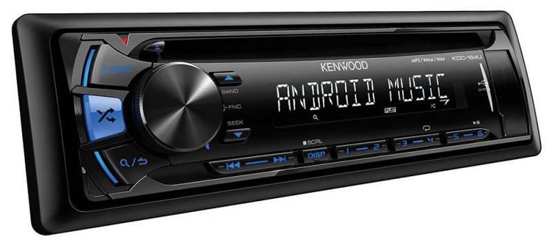 Автомагнитола Kenwood KDC-164UB  1 din 4x50Вт FM/MW/LW - фото 2
