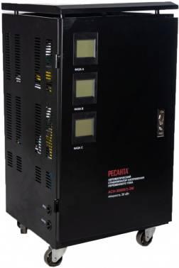 Стабилизатор напряжения Ресанта ACH-30000/3-ЭМ черный