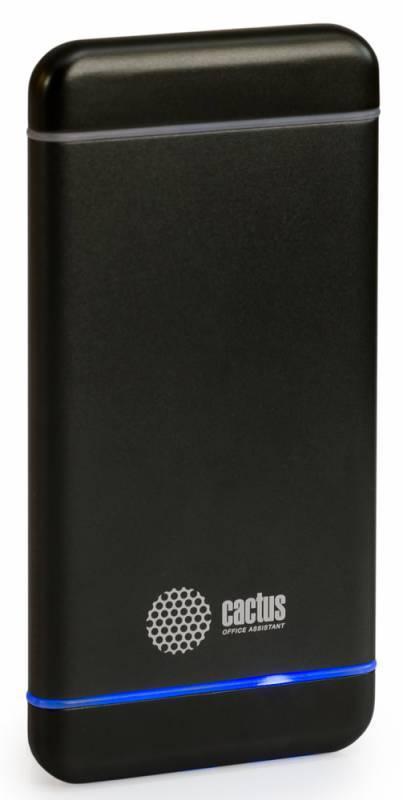 Мобильный аккумулятор CACTUS CS-PBMS028-5000SG графит - фото 2
