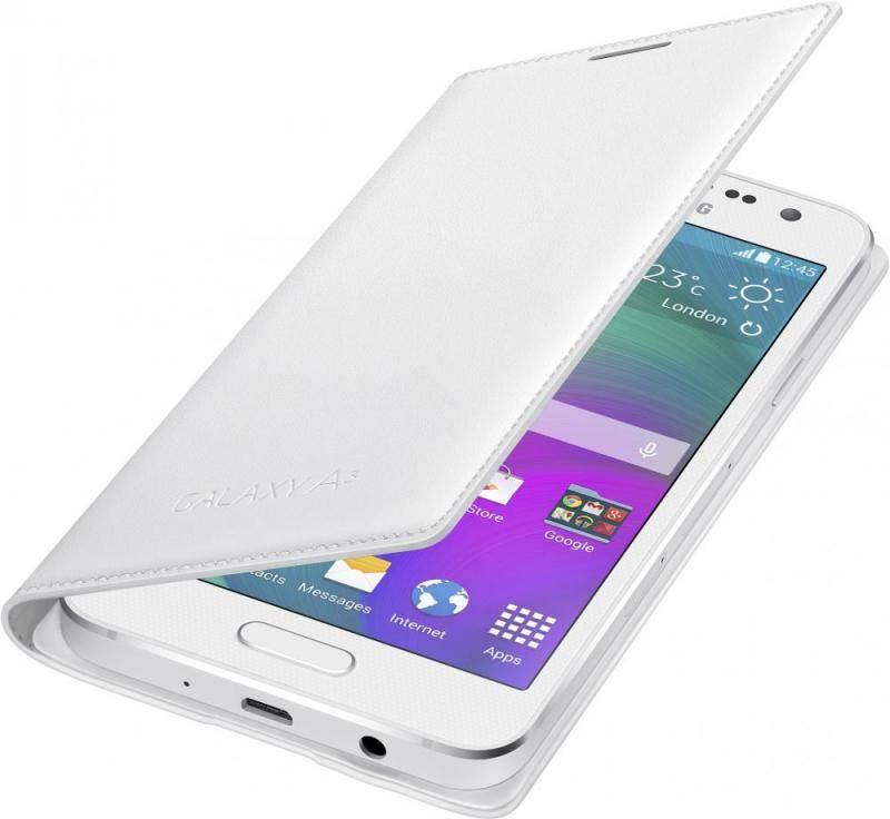 Чехол (флип-кейс) Samsung EF-FA300BWEGRU белый - фото 1