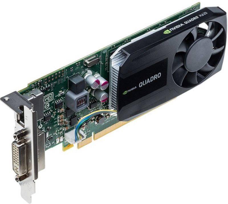 Видеокарта Dell Quadro 2048 МБ (490-BCGC) - фото 2