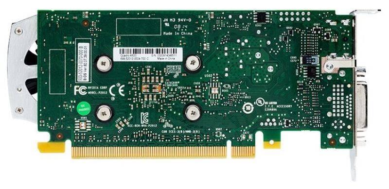 Видеокарта Dell Quadro 2048 МБ (490-BCGC) - фото 3