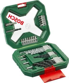 Набор бит и сверл Bosch X-line 34 (34пред.) для шуруповертов/дрелей (2607010608)