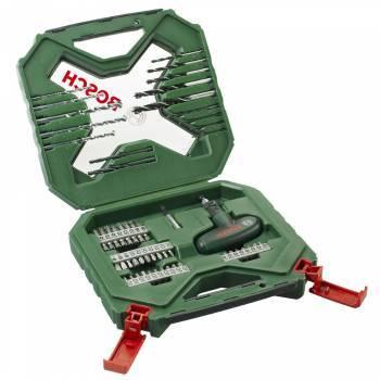 Набор бит и сверл Bosch X-line 54 (54пред.) для шуруповертов/дрелей (2607010610)