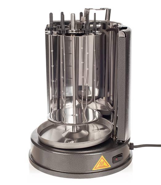 Шашлычница электрическая Kitfort KT-1404 серебристый - фото 3