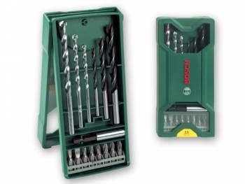Набор бит и сверл Bosch 2607019579 (15пред.) для шуруповертов/дрелей