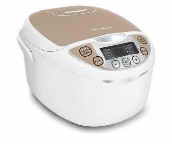 Мультиварка Moulinex MK706A32 белый/бежевый (7211001796)