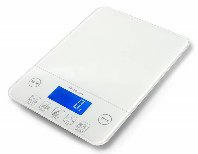 Кухонные весы Rolsen KS-2912 белый - фото 1