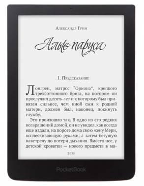 Электронная книга 6 PocketBook 630 темно-коричневый