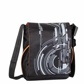 Сумка для ноутбука 10.2 Riva 8010 черный / серый