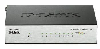 Коммутатор неуправляемый D-Link DGS-1008D / I2B