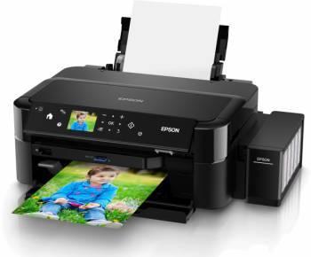 Принтер Epson L810 черный (C11CE32402)