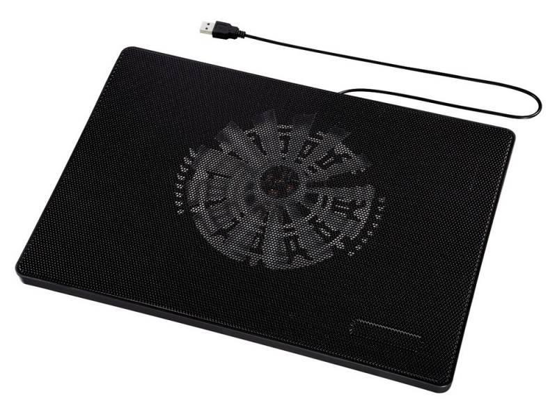 """Подставка для ноутбука 15.6"""" Hama Slim черный (00053067) - фото 1"""