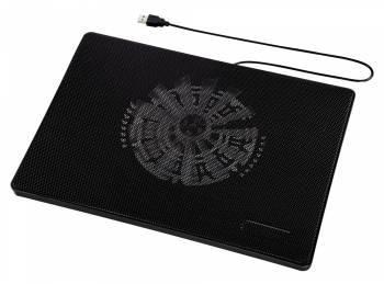 Подставка для ноутбука 15.6 Hama Slim черный (00053067)