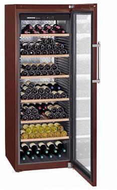 Винный шкаф Liebherr WKt 5552 коричневый
