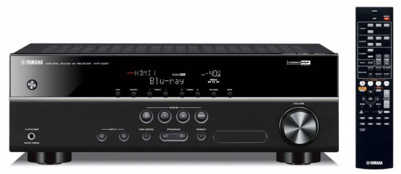 Ресивер AV Yamaha HTR-2067 5.1 черный - фото 1
