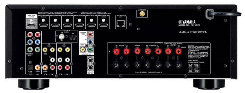 Ресивер AV Yamaha HTR-2067 5.1 черный - фото 2