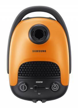 Пылесос Samsung VC20F30WE оранжевый