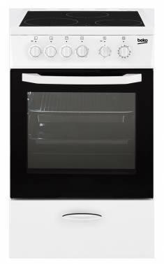 Плита электрическая Beko CSS 48100 GW белый
