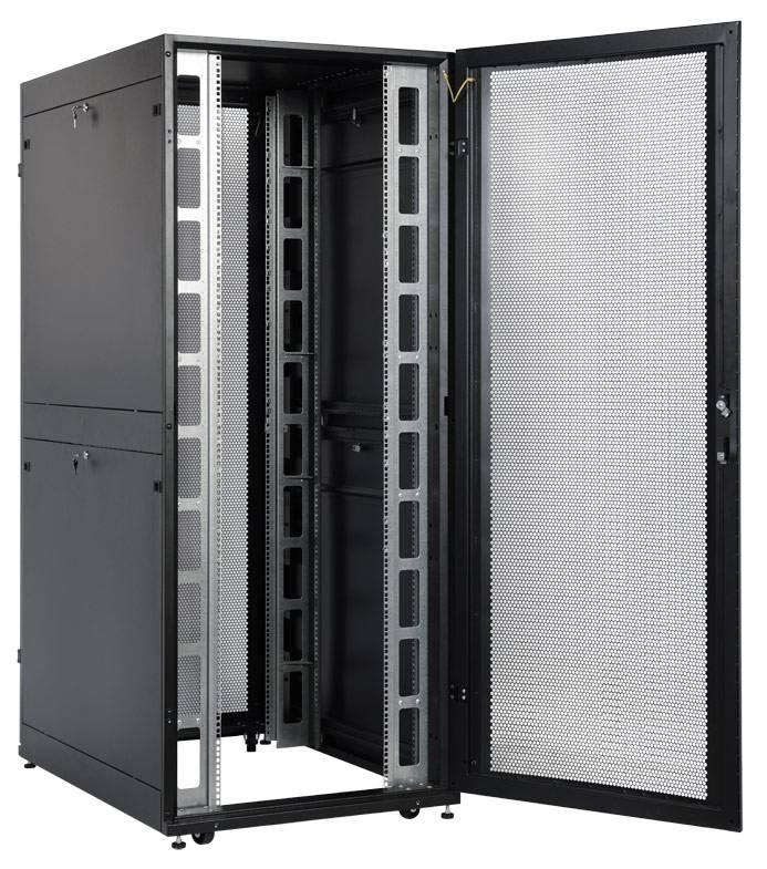 Шкаф серверный ЦМО ШТК-СП-48.8.12-48АА-9005 48U черный - фото 3