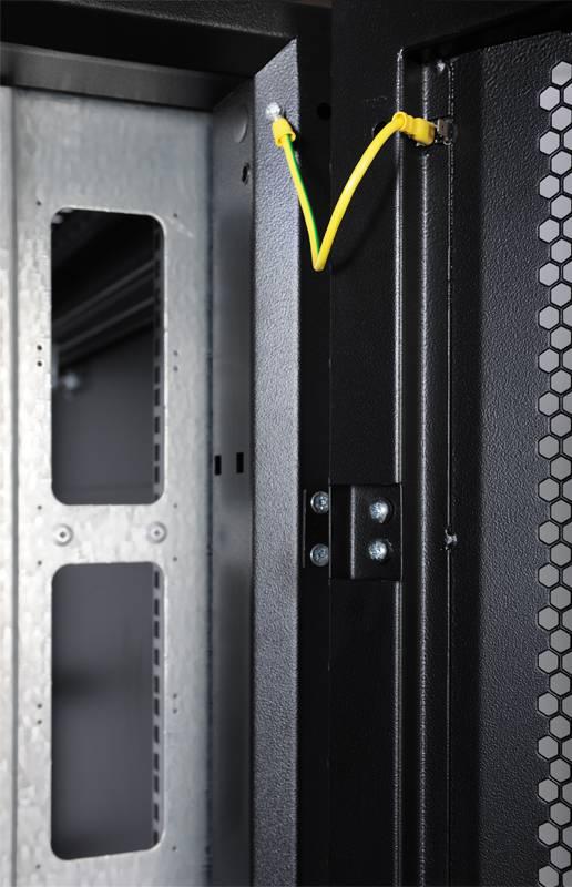 Шкаф серверный ЦМО ШТК-СП-48.8.12-48АА-9005 48U черный - фото 7