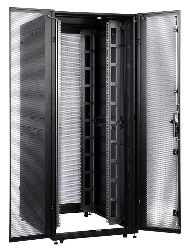 Шкаф серверный ЦМО ШТК-СП-48.8.12-48АА-9005 48U черный - фото 13