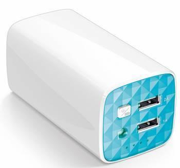 Мобильный аккумулятор TP-Link TL-PB10400 10400mAh белый