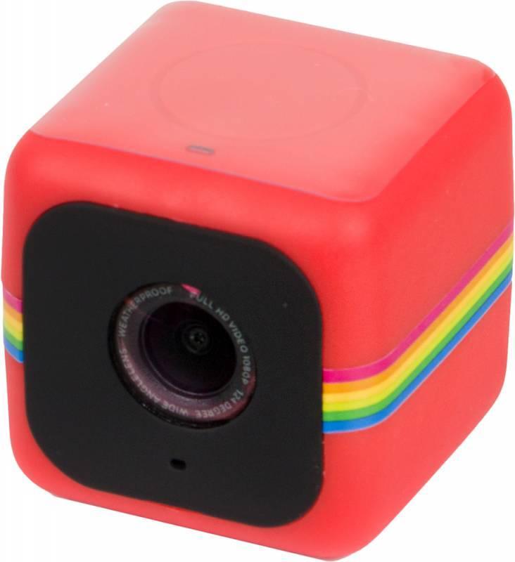 Экшн-камера Polaroid Cube красный - фото 1