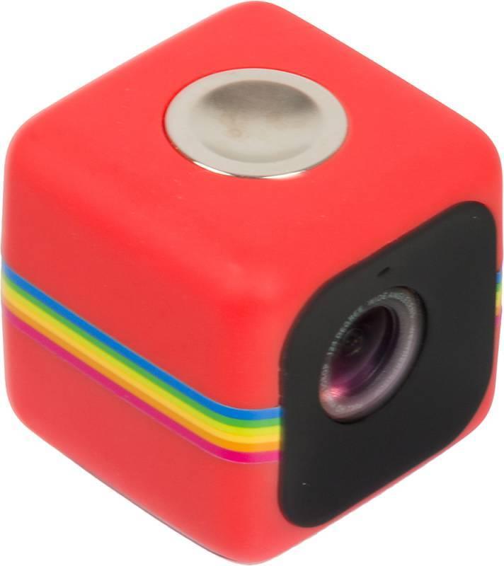 Экшн-камера Polaroid Cube красный - фото 2
