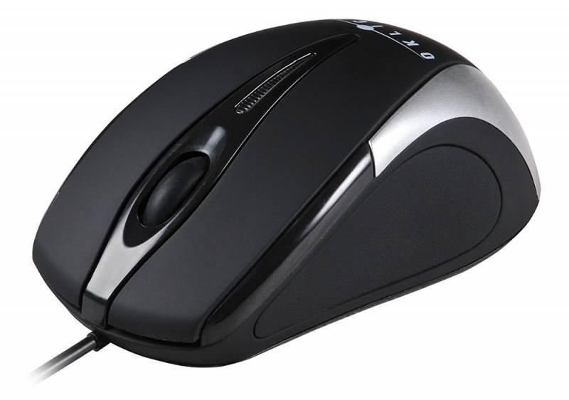 Мышь Oklick 235M черный/серебристый - фото 2